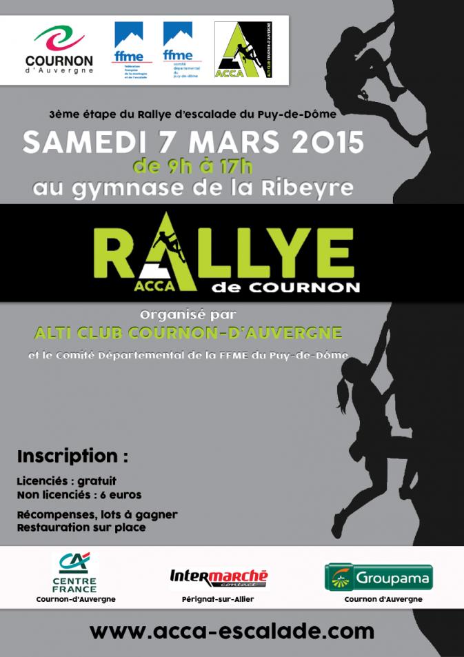 Affiche Rallye ACCA 2015